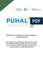 La Matriz Productiva de Argentina. Influencia de La Primera Guerra Mundial y Consecuencias de La Posguerra