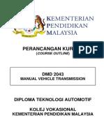 4) Dmd 2043 - Manual Vehicle Transmission
