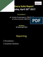 Dellsuit Report 20 April 2017, Campur