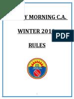 Smca Winter Rules 2019