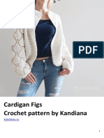 Cardigan Figs Crochet Pattern by Kandiana