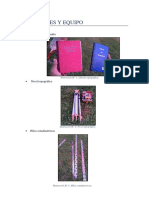 Materiales y Conclusiones