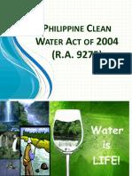 Module 3 - RA 9275 Phil. Clean Water Act