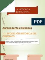 Diapositivas Ineficacia Estructural Del Contrato Finish Edition by Negro