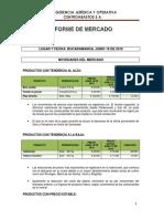 Informe de Mercado Junio 19 de 2019