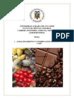 Almacenamiento y Conservacion de Cacao y Cafe