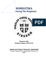 Diktat Homiletika (Declaring the Kingdom) 2019