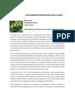 Articulo de Mora, Alimentica, 25oct10