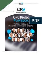 2019 OPC Piano Playbook
