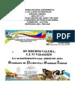 Informe de Humberto Valera
