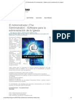 CompuBiblias_ El Administrador (the Administrator) - Software Para La Administración de La Iglesia