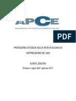 APCE Linee Guida Protezione Catodica