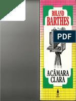 BARTHES, Roland. A câmera clara. 1-2-3-4