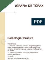 Aula raio x de torax