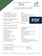 Certificado Aprobacion Brisa 2 SEC N 48954