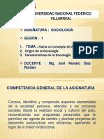 Clase N° 1-Sociologia-UNFV-2019