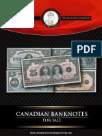 2015 Canadian Banknote Catalogue