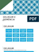 Delirium e Demência