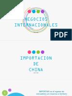 Importacion Negocios Internacionales