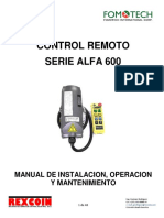 Manual Alfa 600 Español