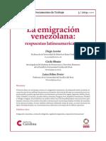 La Emigración Venezolana_Respuestas Latinoamericanas