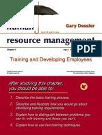 Chapter 8 Training and Development- Dessler