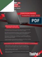 Manual Thinkpad Edge E430