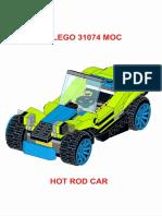 LEGO 31074 Hot Rod Car