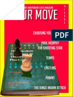 Your Move - Australia's Independent Chess Magazine, Ist Issue