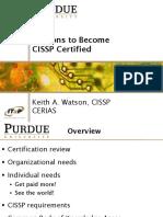 CISSP Reasons