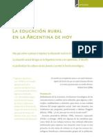 2006 dillon La educación rural en la Argentina de hoy