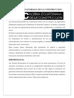 Normas Ecuatorina de La Coonstruccion - Copia