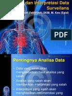 Analisis dan interprestasi data