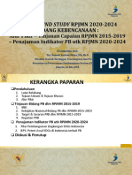 Background Study RPJMN 2020-2024 Bidang Kebencanaan