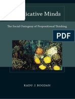 BOGDAN, Radu J. - Predicative Minds