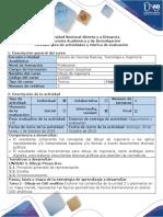 Guía de Actividades y Rúbrica de Evaluación - Tarea 2 - Dibujo en CAD Analítico