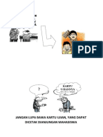 karikatur ujian