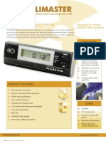 Polimaster Product Sales Sheet