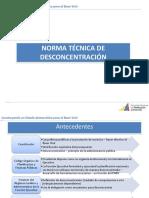Norma técnica descentralidad