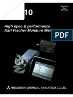 High spec & Performance Karl Fischer Moisture Meter