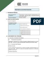 Informe de Metodologia de La Investigacion