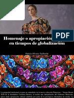 Patricia Olivares Taylhardat - Homenaje o Apropiación Cultural en Tiempos de Globalización