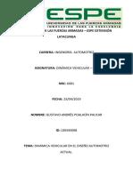 Actividad Entregable Dinamica Vehicular Gustavo Poalacin