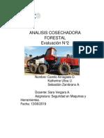 Caracterizacion de La Cosechadora Forestal Harvester