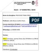 Plano de Aula - Pt - Prof Joao Bosco