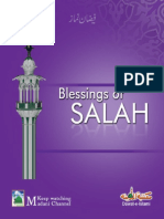 Blessings of Salah