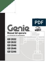 Manual Operador GS3246