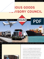 Dangerous Goods Advisory Council Membership Brochure