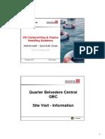 04 CAR QBC VIU Site Presentation Seitz