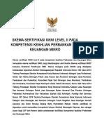 KKNI II Perbankan Dan Keuangan Mikro